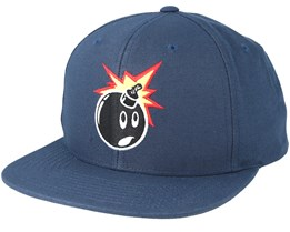 Adam Navy Snapback - The Hundreds