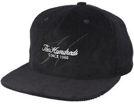 Hills Strapback Black Adjustable - The Hundreds