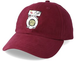 072bb286a Drained Dad Burgundy Adjustable - The Hundreds