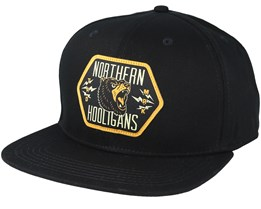 Bears Black Snapback - Northern Hooligans