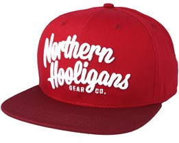 Classic Gear Co Red Snapback - Northern Hooligans