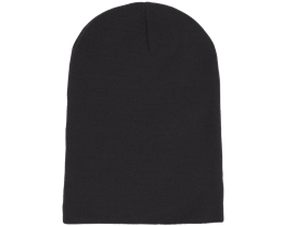 Long Beanie Black - Beanie Basic
