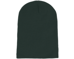 Long Beanie Bottle Green - Beanie Basic