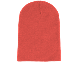 Long Beanie Coral - Beanie Basic