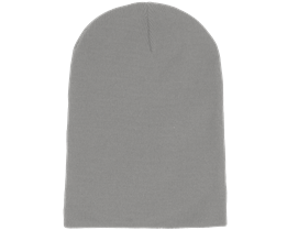 Long Beanie Light Grey - Beanie Basic
