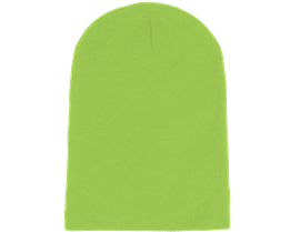 Long Beanie Lime Green - Beanie Basic