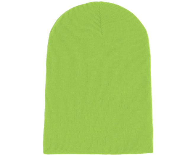 92c289fa9e28f Long Beanie Lime Green - Beanie Basic beanies - Hatstoreworld.com