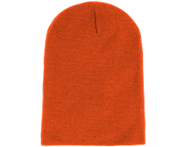 Long Beanie Orange - Beanie Basic