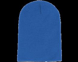 Long Beanie Sapphire Blue - Beanie Basic