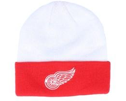 Detroit Red Wings Locker Room Cuffed White/Red Cuff - Adidas - Adidas