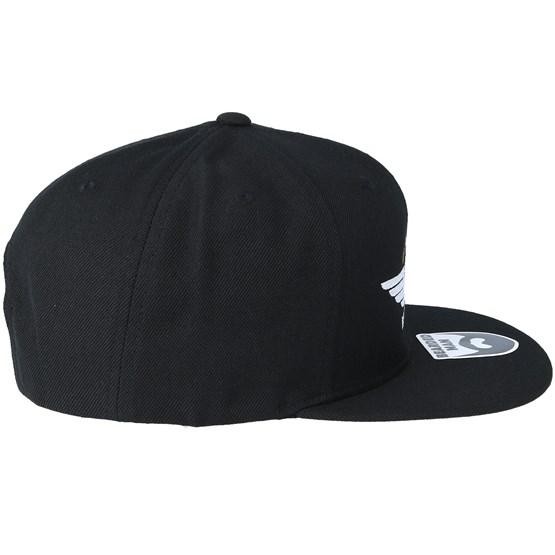 9cffb68d816 Beard Force Black Snapback - Bearded Man caps - Bearded Man