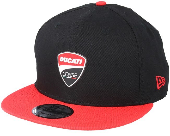 Corse Snaparch 950 Ducati Black Red Snapback - New Era caps ... e25c99c2480