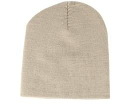 Knitted Short Stone Beanie - Beanie Basic