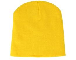 Original Pull-On Yellow Beanie - Beanie Basic