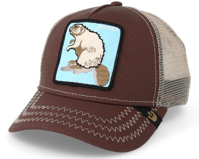 665428345a5 Beaver Brown Trucker - Goorin Bros. caps - Hatstoreworld.com