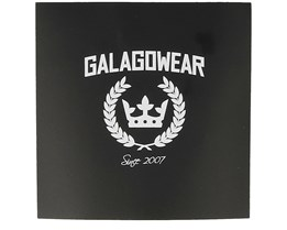 Sticker Logo 10x10 CM Black - Galagowear