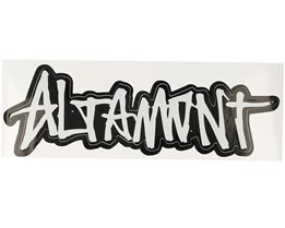 Sticker Graffiti Logo 7,5x15 Black - Altamont