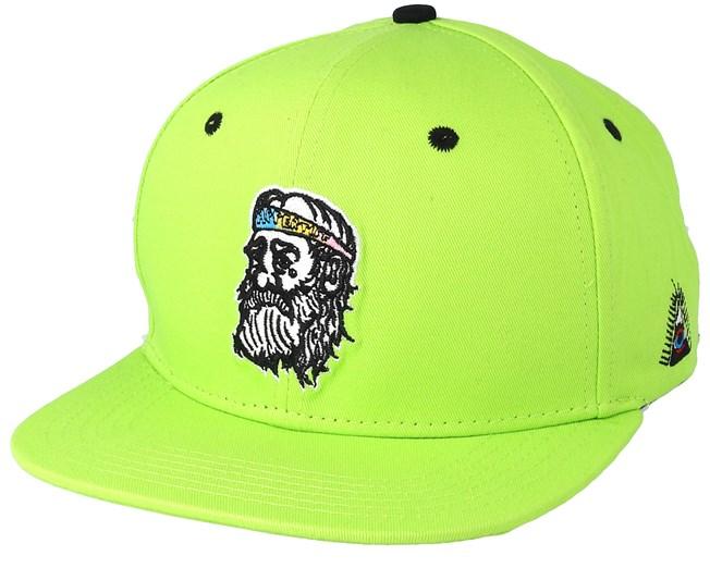 4922cfe18f4 Ohoj Hippie Pastel Lemon Snapback - Appertiff caps