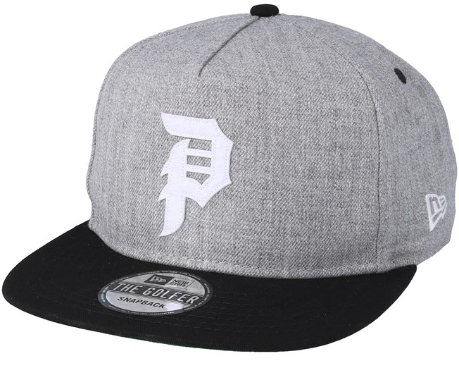 5c177d7728d Dirty P Minor League Heather Grey Snapback - Primitive Apparel caps -  Hatstoreaustralia.com