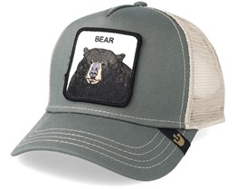 Black Bear Baseball Olive Trucker - Goorin Bros.