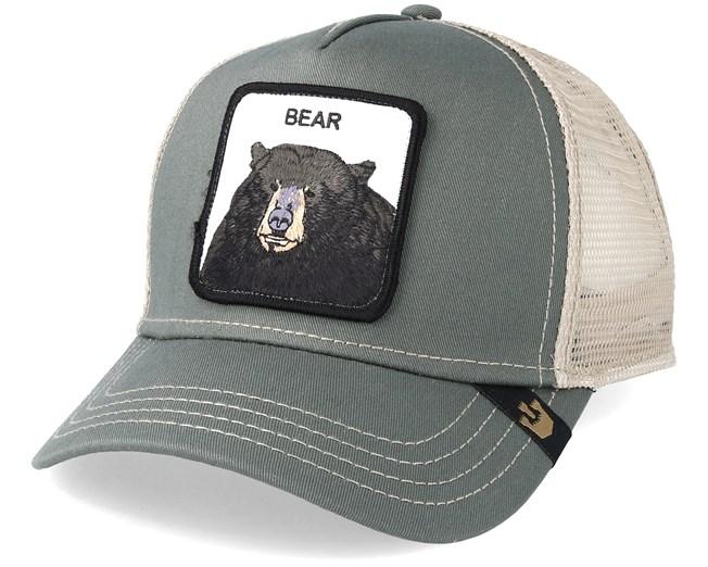 Black Bear Baseball Olive Trucker - Goorin Bros. caps - Hatstorecanada.com 6573d4f7732