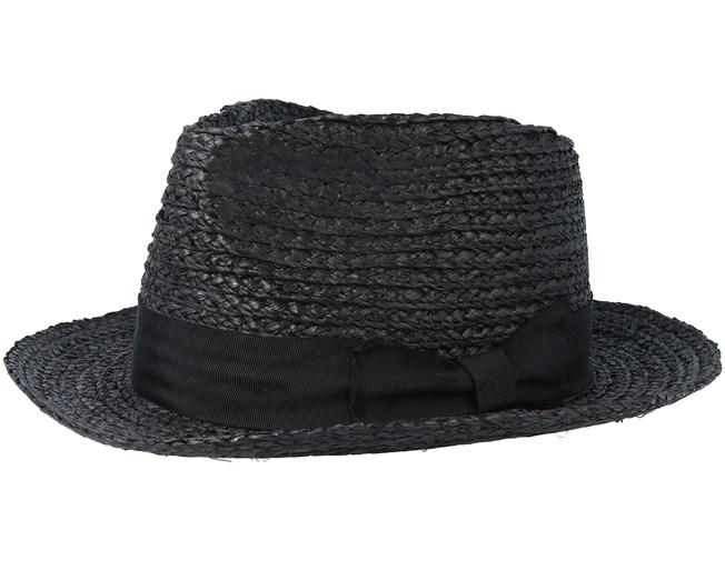 f2c644ce7f4 Crosby Black Fedora - Brixton hats