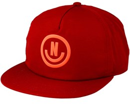 Neflection Maroon/Infrared Snapback - Neff