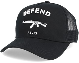 Paris Black Trucker - Defend Paris