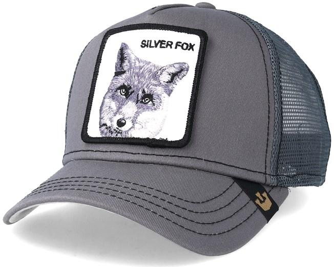 ae303f18d24f7 Silver Fox Grey Trucker - Goorin Bros. caps - Hatstoreworld.com
