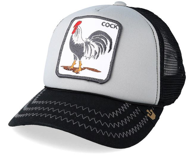 Checkin Traps Grey Black Trucker - Goorin Bros. - Start Gorra - Hatstore 53811f124d9
