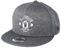 Manchester United Shadowtech 9Fifty Charcoal Snapback - New Era