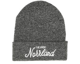 Great Norrland Dark Heather Grey Beanie - Sqrtn