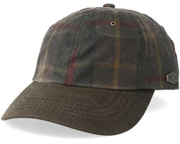 Duck Wax Cotton Brown Check Adjustable - MJM Hats