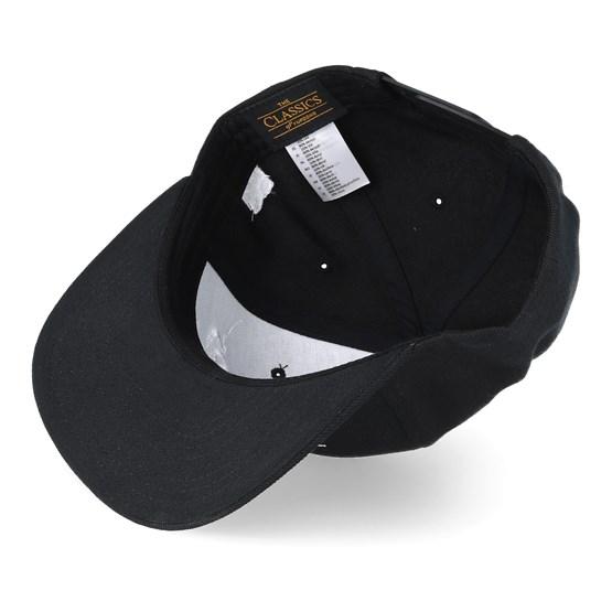 138d8acf4a3 Beards For Boobs Black Snapback - Bearded Man cap - Hatstore.co.in