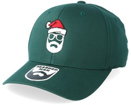 Santa Man Green Flexfit - Bearded Man