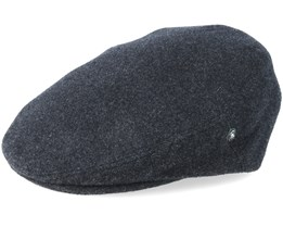 Dark Grey Flat Cap - City Sport