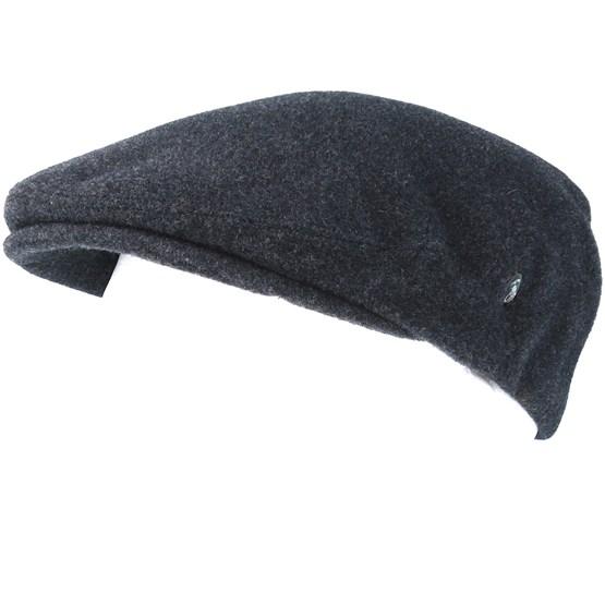 829a65830af Dark Grey Flat Cap - City Sport cap - Hatstore.co.in