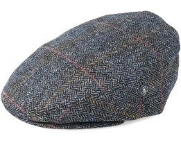 Fishbone Grey/Black Flat Cap - City Sport