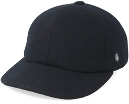 Dad Cap Wool Black Adjustable - City Sport