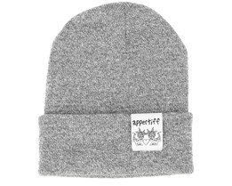 Hightop Heather Grey One Beanie - Appertiff