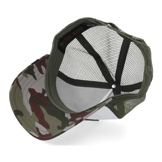 c5c33805d5571 Butch Baseball Trucker - White Olive Camo Trucker - Goorin Bros. cap -  Hatstore.co.in
