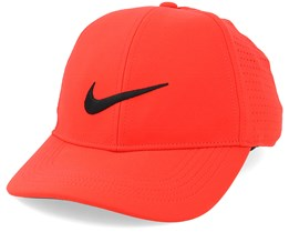 Mens Legacy Cap Orange Adjustable - Nike