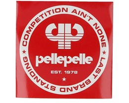 Sticker Competition 10x10 Red - Pelle Pelle