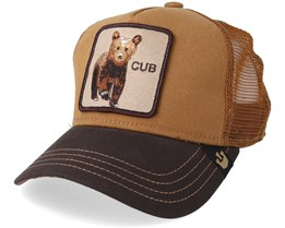 kids Baby Cub Brown Trucker - Goorin Bros.