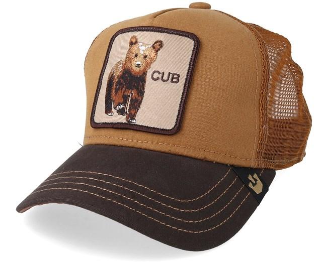 9a424c55 Kids Baby Cub Brown Trucker - Goorin Bros. caps - Hatstoreaustralia.com