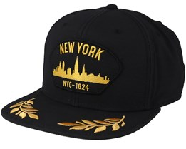 The City Black Snapback - Goorin Bros.