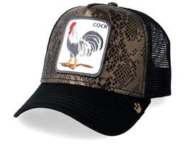 Cock Cuir Black Trucker - Goorin Bros.