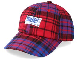 Bolt Dad Hat Red Adjustable - The Hundreds