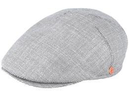 Simon Grey Flat Cap - Mayser