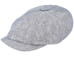 Seven Big Grey Flat Cap - Mayser